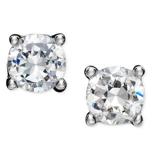 Giani Bernini cubic zirconia silver earrings